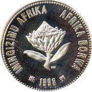 2 ½ Cents (Manchot du Cap) – avers