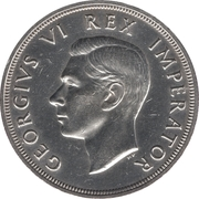 5 shillings - George VI -  avers