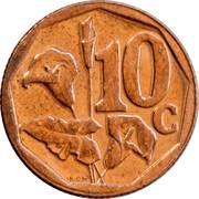 10 cents (Afrika-Isewula) -  revers