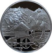 10 cents (Maloti  Drakensberg Transfrontier Project) – revers