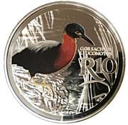 10 Rand (White-backed Night Heron - colourized) – revers