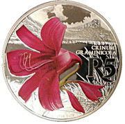 5 Rand (Grass Crinum - colourized) – revers