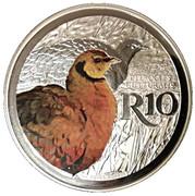 10 Rand (Yellow-Thorauted Sandgrouse) – revers
