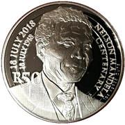 R50 (Nelson Mandela - The Statesman) – revers