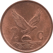 2 cents (en venda - AFURIKA TSHIPEMBE) -  revers