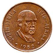 2 cents (Balthazar J. Vorster) -  avers
