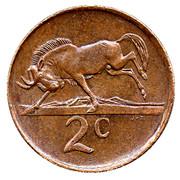 2 cents (Balthazar J. Vorster) -  revers