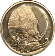 5 cents Léopard – revers