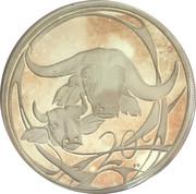 20 cents (buffle) – revers