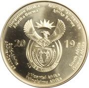 50 Rand 25 Year Democracy – avers