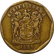 50 cents (en sesotho - AFRIKA BORWA) -  avers