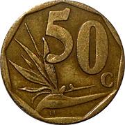 50 cents (en sesotho - AFRIKA BORWA) -  revers