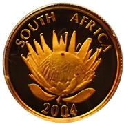 5 Rand / 1/10 Ounce (Ten Year Anniversary of a Democratic South Africa) – avers