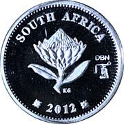 2½ Cents Gautrain – avers