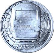 2½ Cents Gautrain – revers