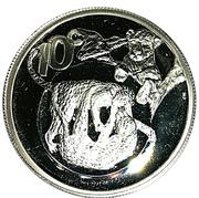 10 Cents (Leopard) – revers