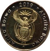 2019 5 Rand – avers