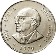 1 rand (Nicolaas J. Diederichs) -  avers
