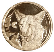 5 Cents (African Wild Dog) – revers