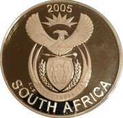 50 Cents (Africa Wild Dog) – avers