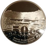 50 Cents (Maloti Drakensberg Transfrontier Peace Park) – revers