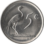5 cents (SUID-AFRIKA - SOUTH AFRICA) -  revers