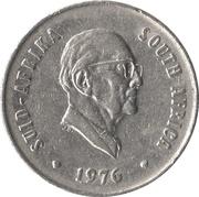 20 cents (Jacobus J. Fouché) -  avers