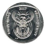 2 rand (en Anglais et Tsonga - AFRIKA DZONGA) -  avers