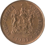 1 cent (SUID-AFRIKA - SOUTH AFRICA) -  avers