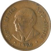 2 cents (Nicolaas J. Diederichs) -  avers