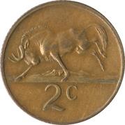 2 cents (Nicolaas J. Diederichs) -  revers