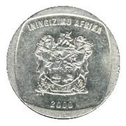 5 rand (en Zoulou - ININGIZIMU AFRIKA) -  avers