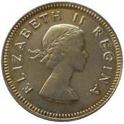 3 pence - Elizabeth II (1ere effigie) -  avers