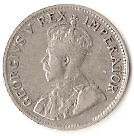 "3 pence - George V (Type 1 - ""ZUID-AFRIKA"") -  avers"