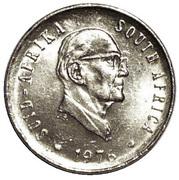 5 cents (Jacobus J. Fouché) -  avers
