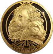 100 Rand / 1 Ounce - Natura - Lion – avers