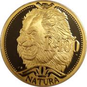 100 Rand / 1 Ounce - Natura - Lion – revers