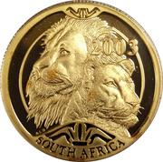 50 Rand / 1/2 Ounce - Natura - Lion – avers