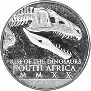 25 Rand - Coelophysis – avers