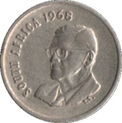 5 cents - Charles Swart (en Anglais - SOUTH AFRICA) -  avers