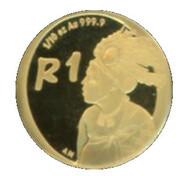 2006 Gold 1/10th oz The emaSwati people – revers