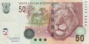 50 rand – avers