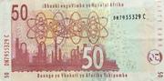 50 rand – revers