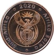5 rand (Suid Afrika - Afrika Borwa) – avers