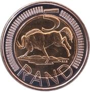 5 rand (Suid Afrika - Afrika Borwa) – revers