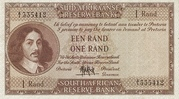 1 Rand (Afrikaans - English) – avers
