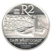 2 Rand (Cape West Coast Biosphere Reserve - Marine) – revers