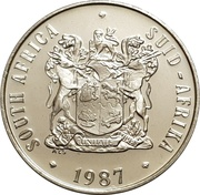 50 cents (SOUTH AFRICA - SUID-AFRIKA) -  avers