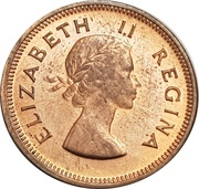 ¼ penny - Elizabeth II (1ere effigie) -  avers