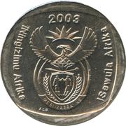 2 rand (en Ndébélé et Zoulou - ISEWULA AFRIKA) -  avers